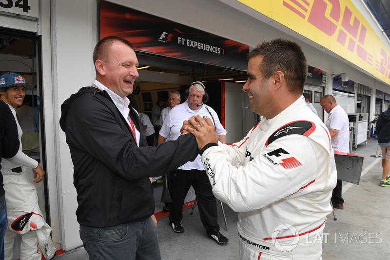 Baumgartner Zsolt, F1 Experience