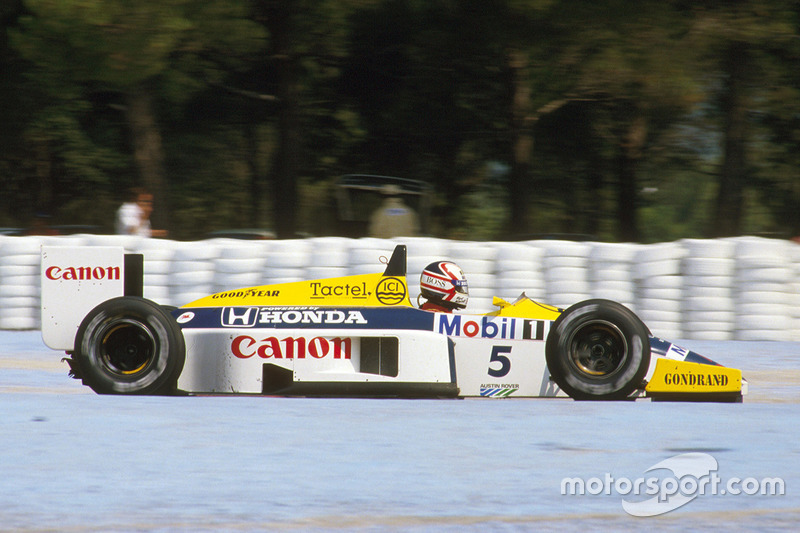 1986 Nigel Mansell, Williams