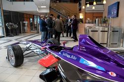 DS Virgin Racing fabrika ziyareti