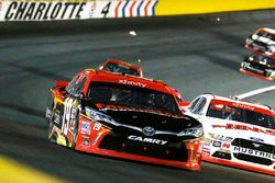 Matt Tifft, Joe Gibbs Racing Toyota, Cole Custer, Stewart-Haas Racing Ford