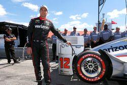 Will Power, Team Penske Chevrolet fête son Verizon P1 Pole Award