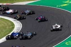 Lance Stroll, Williams FW40, Romain Grosjean, Haas F1 Team VF-17, Pascal Wehrlein, Sauber C36
