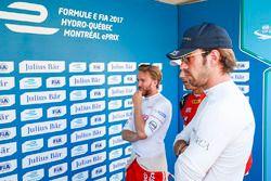 Nick Heidfeld, Mahindra Racing, and Jean-Eric Vergne, Techeetah