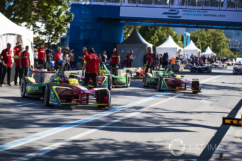 Daniel Abt, ABT Schaeffler Audi Sport,Lucas di Grassi, ABT Schaeffler Audi Sport