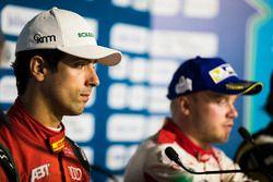 Lucas di Grassi, ABT Schaeffler Audi Sport, Felix Rosenqvist, Mahindra Racing, in the press conferen