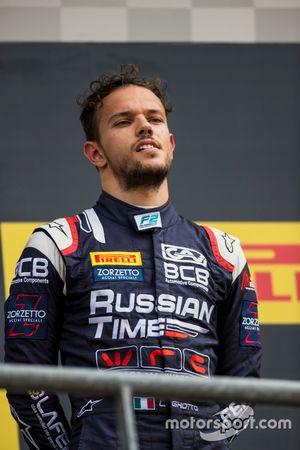 Il terzo classificato place Luca Ghiotto, RUSSIAN TIME