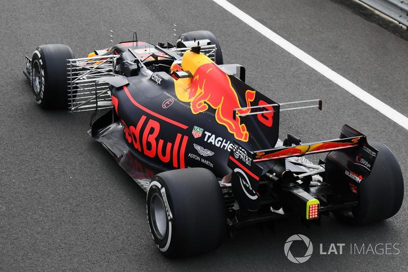 Даніель Ріккардо, Red Bull Racing RB13, датчики Кіля