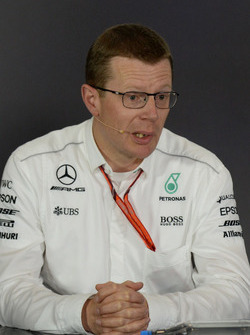 Andy Cowell, Managing Director, Mercedes AMG High Performance Powertrains in the Press Conference
