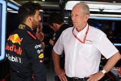 Daniel Ricciardo, Red Bull Racing, mit Helmut Marko, Red Bull, Motorsportberater