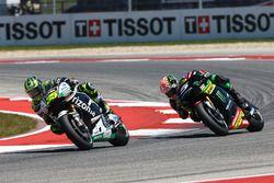 Cal Crutchlow, Team LCR Honda; Johann Zarco, Monster Yamaha Tech 3