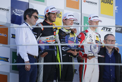 Rookie Podium: Race winner Lando Norris, Carlin Dallara F317 - Volkswagen, second place Jehan Daruvala, Carlin, Dallara F317 - Volkswagen , third place Mick Schumacher, Prema Powerteam, Dallara F317 - Mercedes-Benz