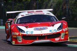 Ferrari 488-S.GT3 #27, Scuderia Baldini 74: Malucelli-Cheever