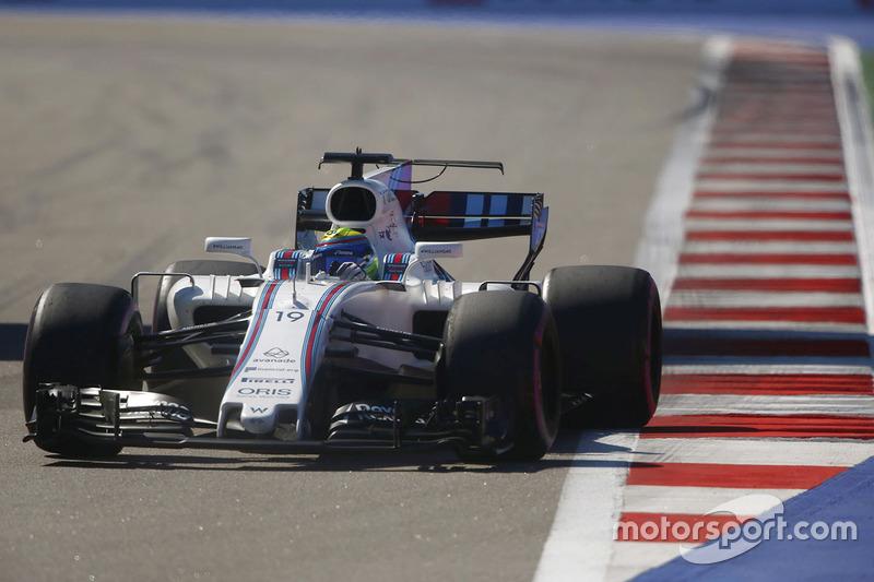 Felipe Massa foi bem e se colocou no sexto posto, ficando à frente de...