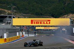 Verbremser: Valtteri Bottas, Mercedes AMG F1 W08