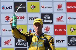 Podium: third place Anthony West, SuperSports 600cc