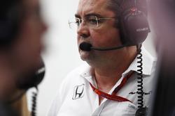 Eric Boullier, Director de carrera de  McLaren