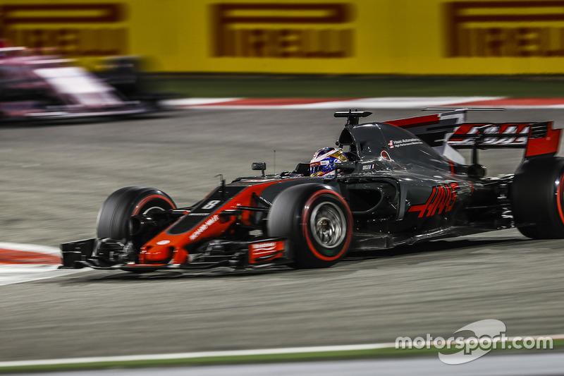 8e : Romain Grosjean (Haas)