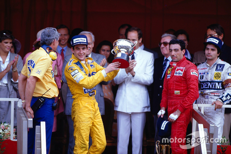1987: A series of podiums