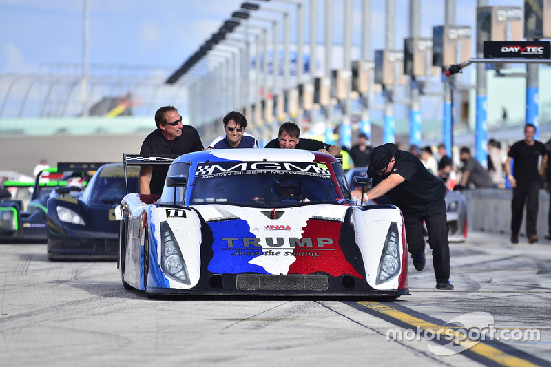 #11 FP1 Daytona Prototype driven by Shane Lewis of MGM Motorsports