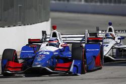 Takuma Sato, Andretti Autosport Honda voor J.R. Hildebrand, Ed Carpenter Racing Chevrolet