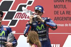 Podium: 1. Maverick Viñales, Yamaha Factory Racing