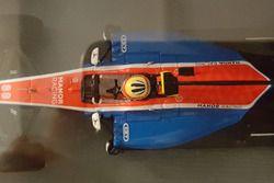 Miniatur 1/43 Manor Racing MRT05 Rio Haryanto 2016 (Spark S5014)