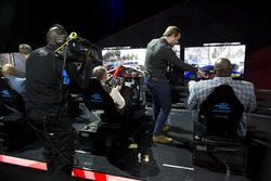 Charles Barkley, Antonio Felix da Costa, Amlin Andretti Formula E Team, Ernie Johnson Jr, Jack Nicho