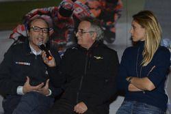 Guido Meda, Vice Direttore di Sky Sport, Franco Nugnes Direttore Motorsport.com, Mara Sangiorgio, giornalista Sky Sport
