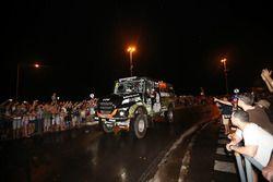 #502 Team De Rooy, IVECO: Federico Villagra, Adrian Arturo Yacopini, Ricardo Adrian Torlaschi