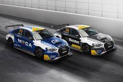 Le Audi RS 3 LMS TCR di Tobias Brink e Micke Ohlsson