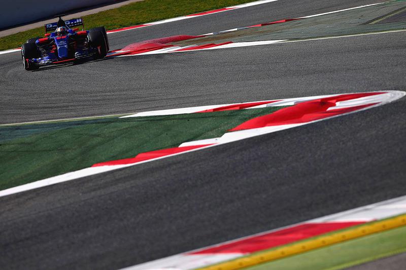 Lundi : Carlos Sainz Jr., Toro Rosso