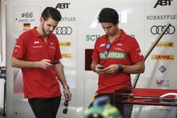 Daniel Abt, ABT Schaeffler Audi Sport and Lucas di Grassi, ABT Schaeffler Audi Sport