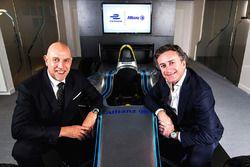 Jean-Marc Pailhol, Allianz SE Head of Group Market Management & Distribution, e Alejandro Agag, CEO della Formula E