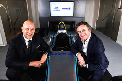 Jean-Marc Pailhol, Allianz SE Head of Group Market Management & Distribution, e Alejandro Agag, CEO della Formula E