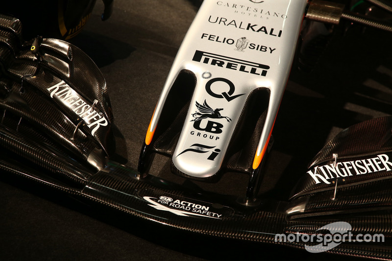 Le nez de la Sahara Force India VJM10