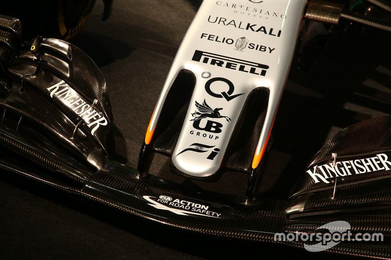 Force India VJM10: Nase