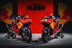 Moto de Niccolo Antonelli, Red Bull KTM Ajo y Bo Bendsneyder, Red Bull KTM Ajo