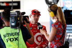 Kyle Larson, Chip Ganassi Racing Chevrolet con Jamie Little, Fox Sports
