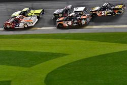 J.J. Yeley, AM Racing Toyota and Christopher Bell, Kyle Busch Motorsports Toyota