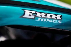 Erik Jones, Joe Gibbs Racing Toyota on the grid