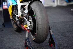 Un pneu de Franco Morbidelli, Marc VDS