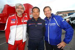 Gigi Dall'Igna, Ducati; Shuhei Nakamoto, Honda; Lin Jarvis, Yamaha