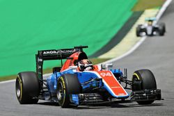 Pascal Wehrlein (GER) Manor Racing MRT05. 11.11.2016. Formula 1 World Championship, Rd 20, Brazilian Grand Prix, Sao Paulo, Brazil, Practice Day. - www.xpbimages.com, EMail: requests@xpbimages.com - copy of publication required for printed pictures. Every used picture is fee-liable. © Copyright: Moy / XPB Images