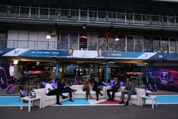 DS Virgirn, Jose Maria Lopez, DS Virgin Racing y Alejandro Agag, Formula E CEO