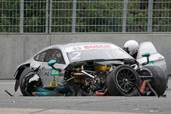 Auto von Gary Paffett, Mercedes-AMG Team HWA, Mercedes-AMG C63 DTM