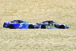 Chase Elliott, Hendrick Motorsports Chevrolet, Kasey Kahne, Hendrick Motorsports Chevrolet