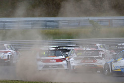 Danny Kroes, Ferry Monster Autosport, SEAT León TCR, Grégoire Demoustier, DG Sport Compétition, Opel Astra TCR