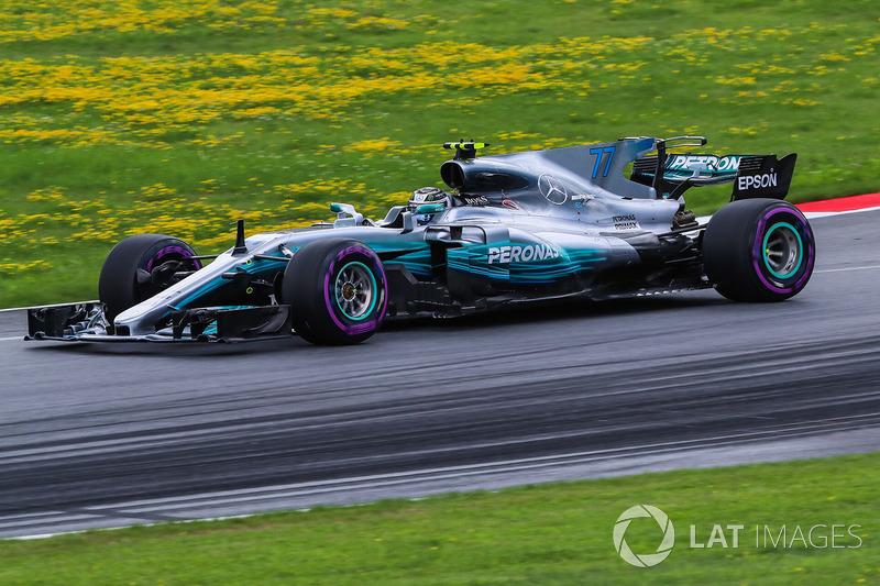 10º Valtteri Bottas, Mercedes AMG F1 F1 W08, Spielberg 2017. Tiempo: 1:04.251