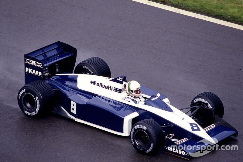 #8: Andrea de Cesaris, Brabham BT56, BMW