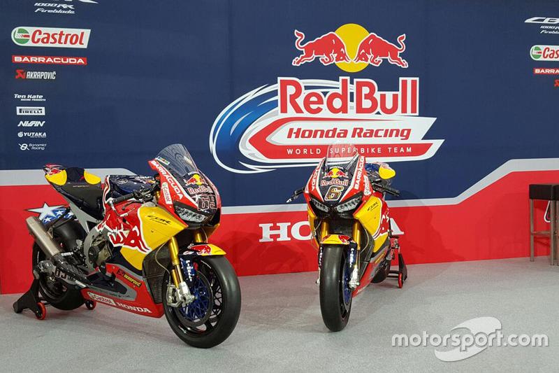 Les motos de Nicky Hayden, Honda World Superbike Team, Stefan Bradl, Honda World Superbike Team